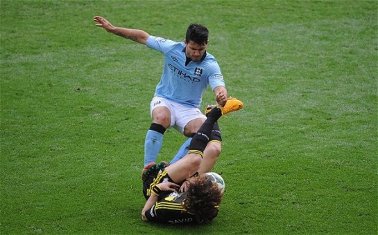 Agüero will not face further action over his challenge on Luiz