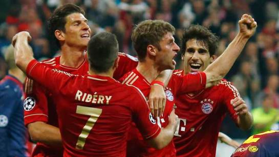 Bayern deservedly crush Barca 4-0, with the German side seemingly grabbing a spot in the Champions League finals