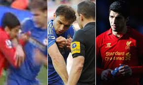 Suarez could face a lengthy ban for biting Ivanovic
